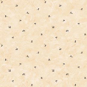 Wallpaper - Woodland Swag Blue Berries - Dot NO BORDER